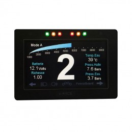 Dashboard e-Race Can Display