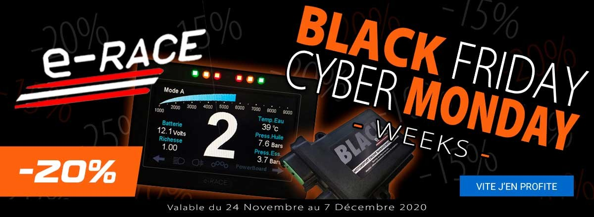 Black & Cyber Week 2020 E-Race